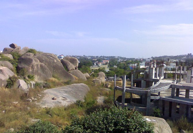 Hyderabad's Jubilee Hills area.