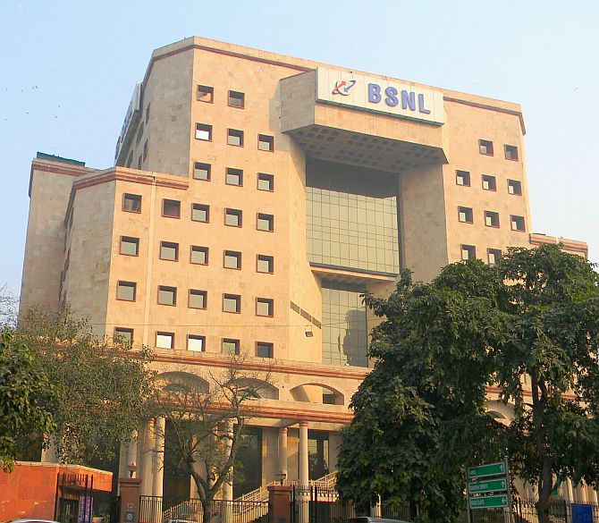 BSNL headquarters.
