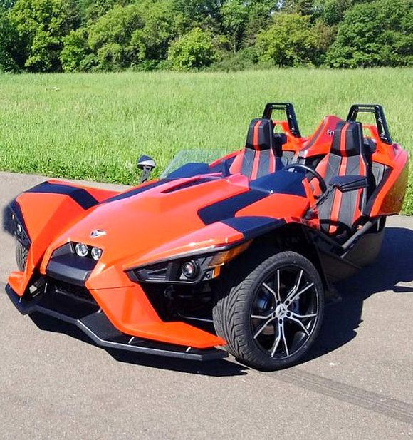Polaris Slingshot: Part car, part motorcycle, all excitement
