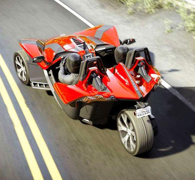 Polaris Slingshot: Part Car, Part Motorcycle, All