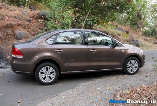 Vw Vento Diesel Is The Best Automatic Car In Its Segment Rediff