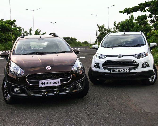 Battle of the SUVs: Fiat Avventura takes on Ford EcoSport