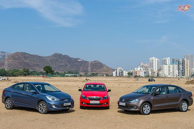 Wheels on fire: Verna vs Rapid vs Vento, which car should you buy