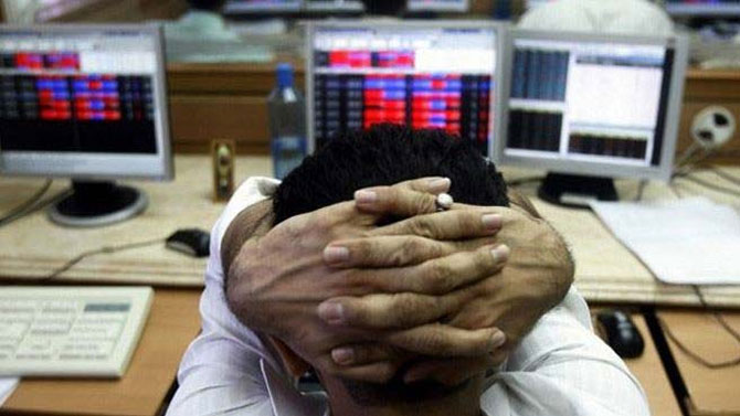 Dalal Street jittery on pullout of FIIs, wobbly rupee