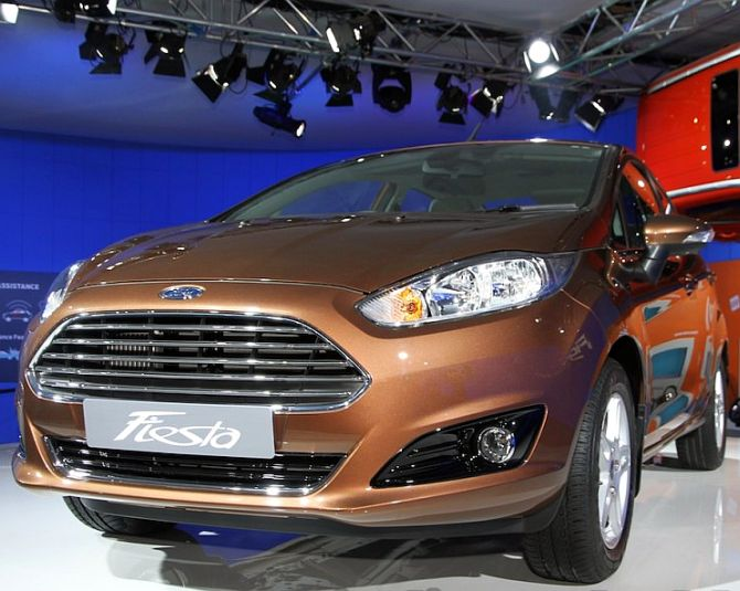 Ford Fiesta Hatchback >> Ford India cuts prices by up to Rs 1.07 lakh - Rediff.com ...