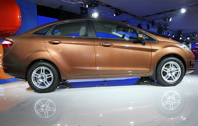 Auto Expo 2014: Ford debuts new Fiesta