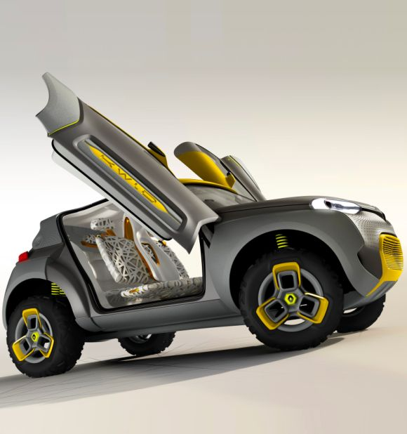 Auto Expo 2014: Renault unveils high-tech concept car KWID