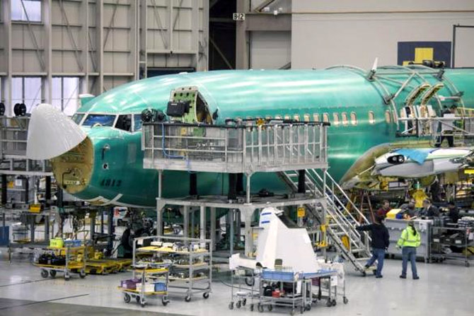 The making of a Boeing 737