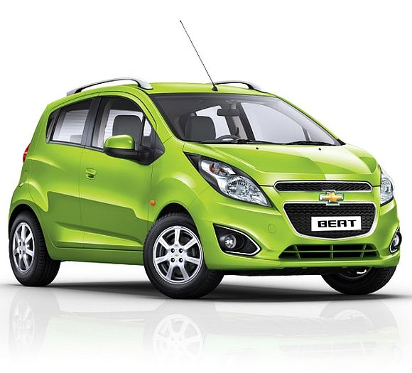 Auto Expo 2014: Chevrolet launches all-new Beat at Rs 4.06 lakh