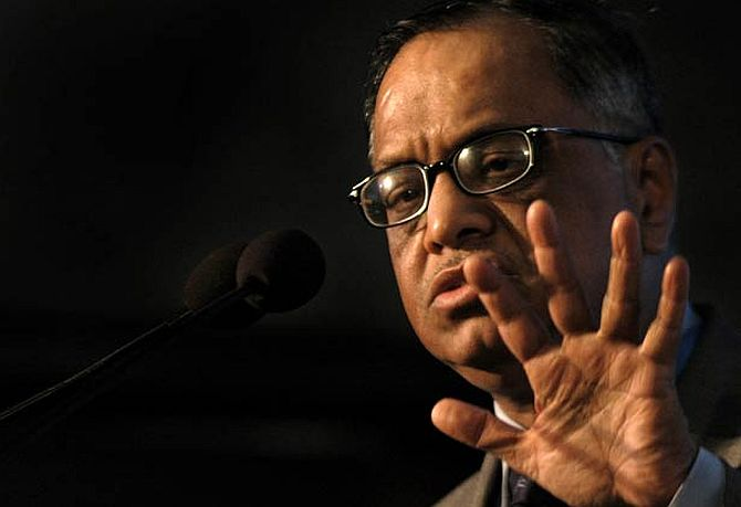 Debate before taxing rich at extremely high rates: Narayana Murthy