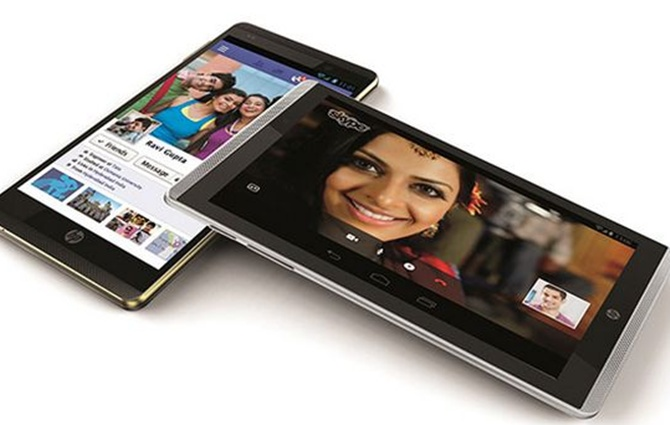 HP launches dual-SIM, quad-core voice tabs at Rs 17,300