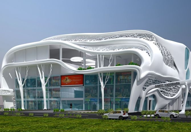 Gujarat develops India's swankiest bus station!