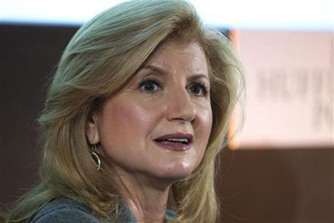 Arianna Huffington, president and Editor-in-Chief of The Huffington Post Media Group.