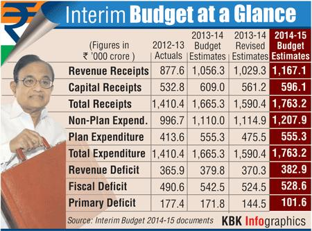 Infographic: Interim Budget at a glance