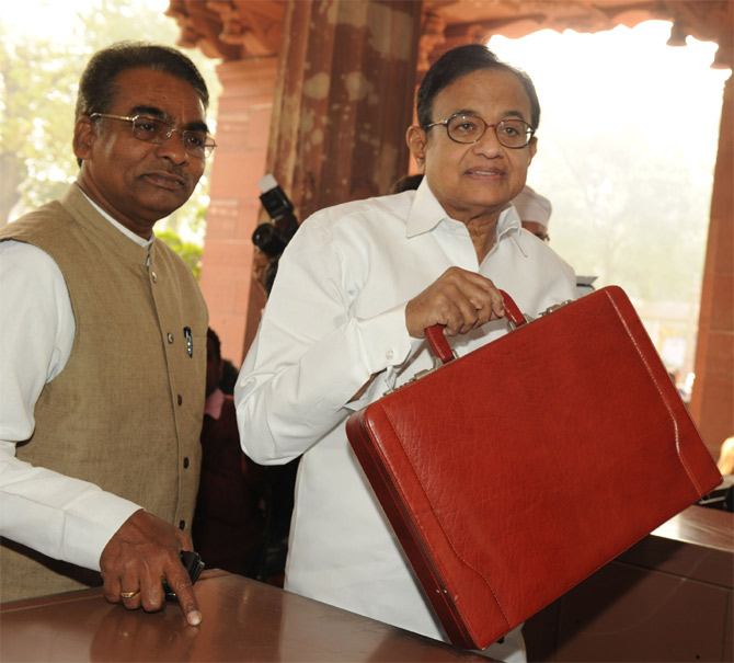 Finance minister P Chidambaram has made clear that he is not in support of giving tax allowances to business houses.