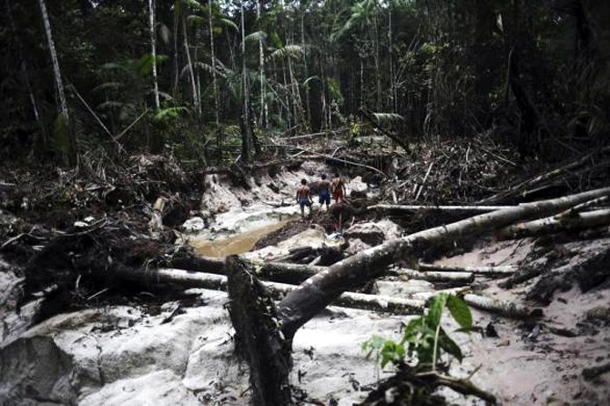 How this tribe catches illegal gold miners