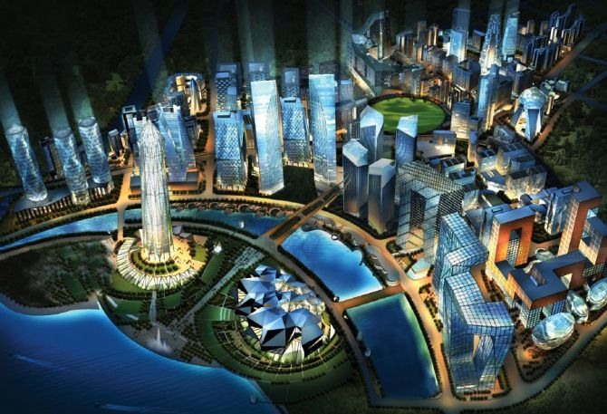 25 biggest planned cities in the world