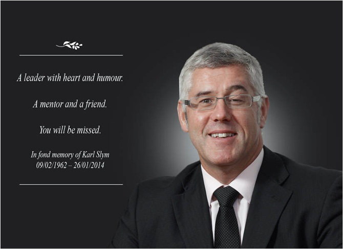 Karl Slym: A jovial person who won the hearts of many