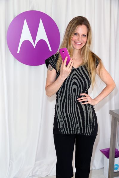 Actress Kristin Bauer van Straten attends the HBO Luxury Lounge featuring Motorola and PANDORA Jewelry in honor of The 65th Primetime Emmy Awards at The Four Seasons Hotel.