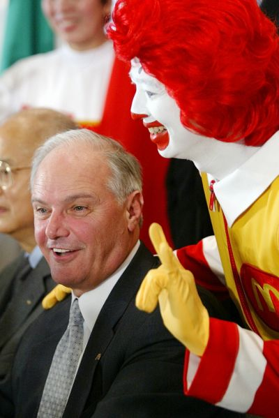 Late Chairman and CEO of McDonald's Corporation Jim Cantalupo.