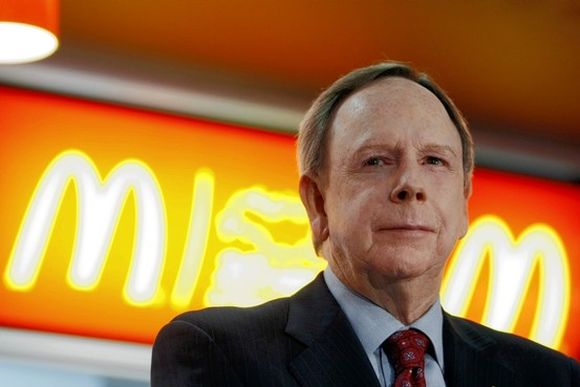 Former McDonald's Corp Chief Executive Jim Skinner.