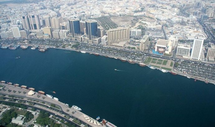 Dubai Creek, which separates Deira from Bur Dubai, played a vital role in the economic development of the city
