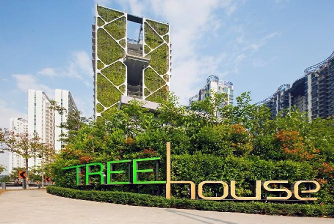 Singapore's pride: 'Skyrise' gardens that save energy, water