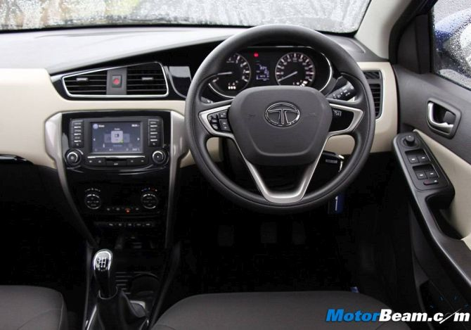 Tata Zest has awesome features that competitors can't match