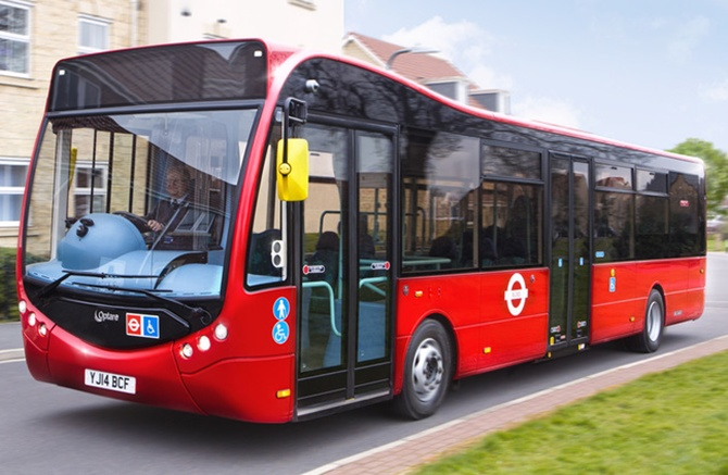 Hinduja-built swanky electric buses in London