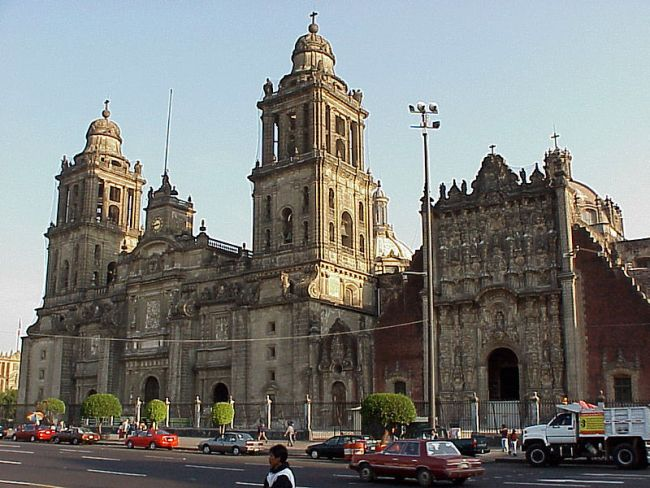 Mexico City Metropolitan Cathedral.