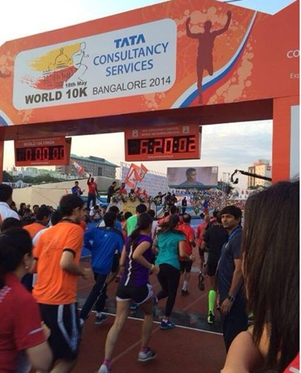 10,000 runners taking part in TCSWorld10K race in Bangalore