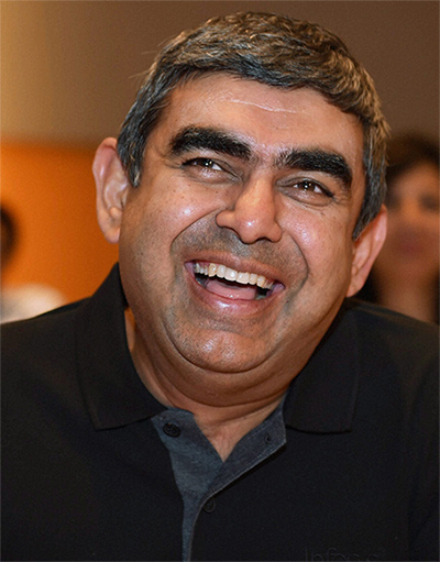 Newly appointed Infosys CEO & MD, Vishal Sikka.