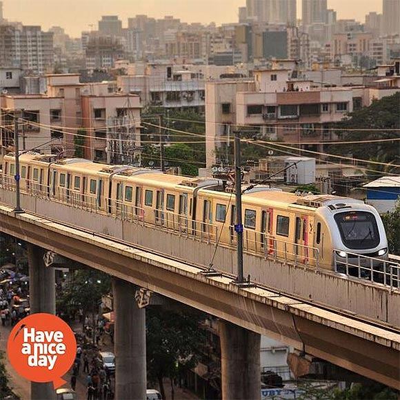 Mumbai Metro turns out to be a big hit