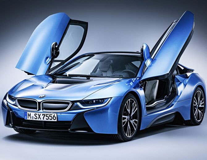 Bmw I8 The Best Electric Car In The World Rediff Com