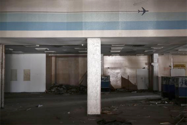 Inside Athens' ghost airport