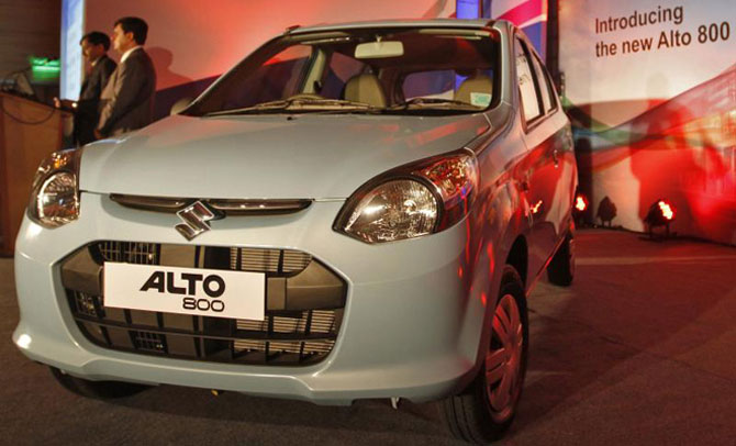 Top 10 cars of 2013: Maruti Suzuki leads with Alto 800