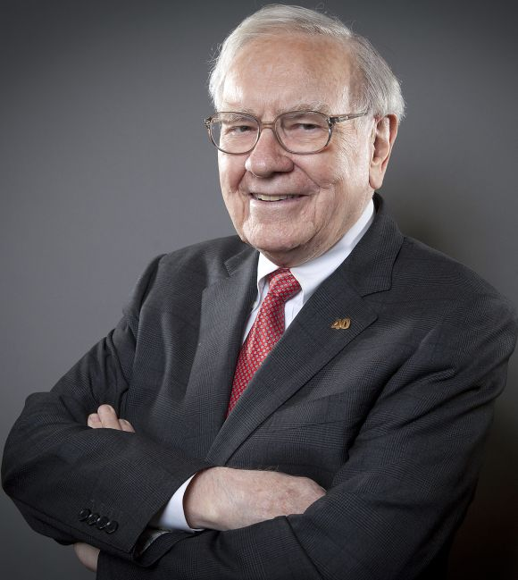 Warren Buffett, Chairman of the Board and CEO of Berkshire Hathaway, poses for a portrait in New York.