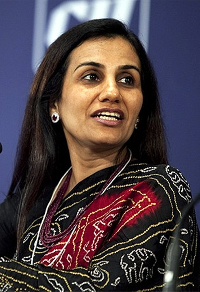 Chanda Kochhar, CEO, ICICI Bank.