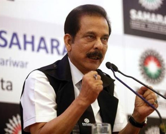 Sahara issued two separate orders for the group companies.