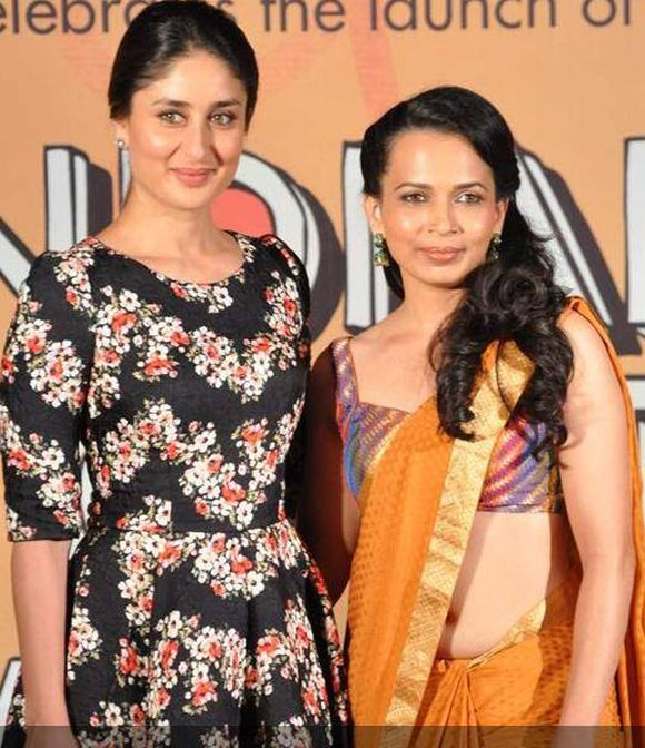 Kareena Kapoor and Rujuta Diwekar.