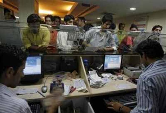 Banks are also streamlining staff. State Bank of India has said it has stopped hiring