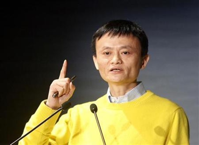 Jack Ma, chairman and founder of China's largest business-to-business Web marketplace Alibaba.com.