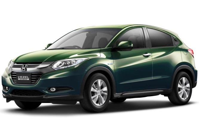 Honda Vezel Concept. Many expect the Brio-based SUV to draw inspiration from vezel.