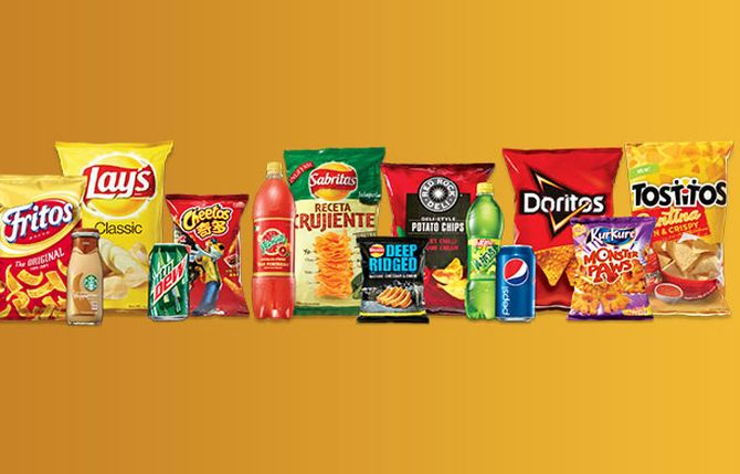 Product line introduced by Pepsico in India.