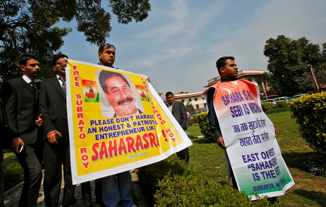 A Sahara official clarified that the letter has not been issued by Subrata Roy or by the management.