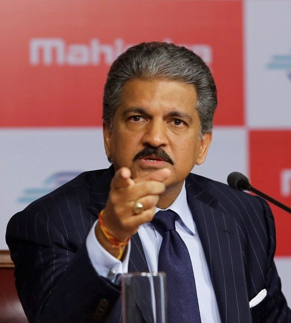 Anand Mahindra, chairman of Tech Mahindra,