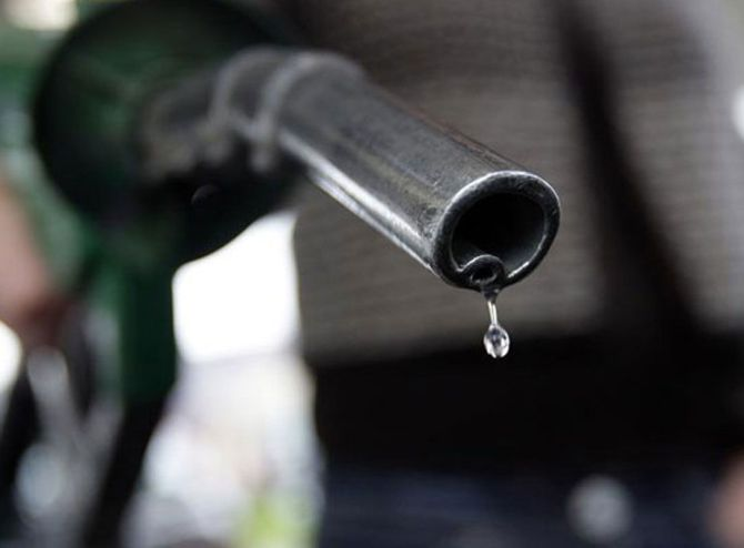 Petrol price cut by 75 paise a litre; diesel hike put off