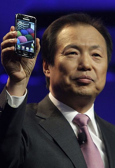 J.K. Shin, Head of Mobile Communications Business for Samsung Electronics