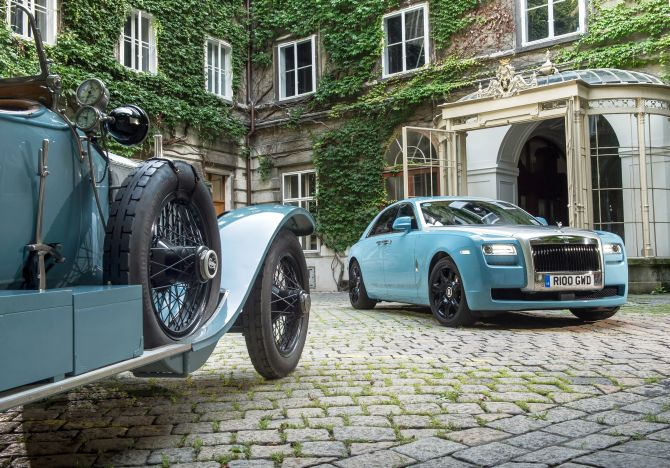 Rolls-Royce celebrates successful 2013 Centenary Alpine Trial.