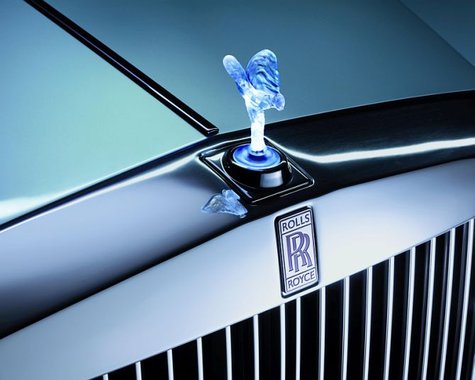 Rolls Royce's bonnet ornament called as Spirit of Ecstasy.